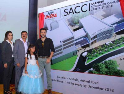 Emraan Hashmi inaugurates India's First Cashless Cancer Care Hospital