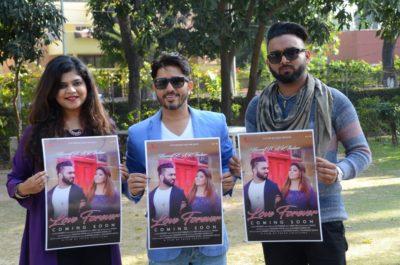 "Encore records launch his 1st Punjabi single track ""Love Forever"""