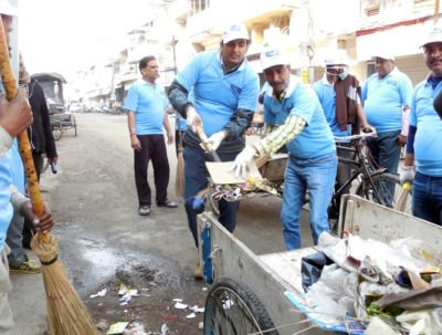 Bunge India & Traders Association launch Swachh Bharat Abhiyan at Patiala Gur Mandi Kiryana Market
