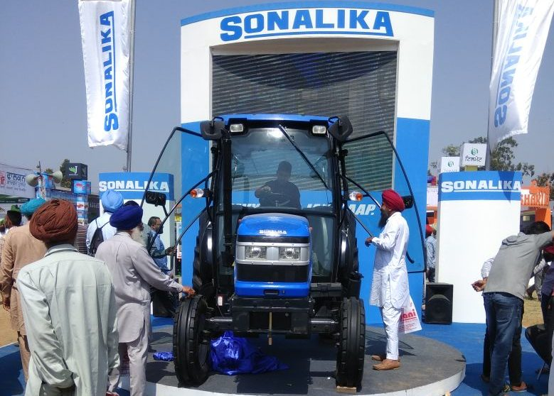 Sonalika Tractors showcased its superior tractor range at 'PAU Kisan Mela' in Ludhiana