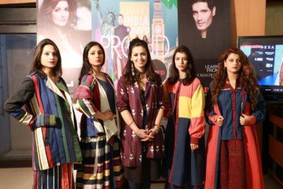 Karishma Shahani's Collection Ka-Sha of Lakme Fashion Week Summer/Resort 2018 showcased at INIFD Chandigarh