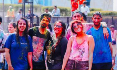 Holi Party held at VR Punjab