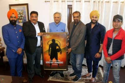 Indo American venture – 'Barefoot Warrior' aims to enthusiast youth of Punjab : Producer Jatinder Minhas