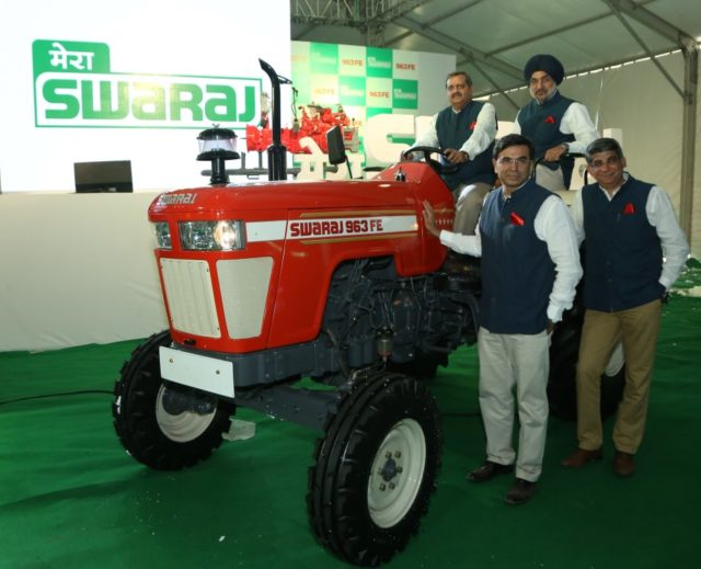 Swaraj Tractors introduces new tractor series ranging from 60 HP to 75 HP