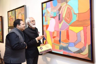 Abhinav Chowbey comes back with yet another enthralling art exhibition