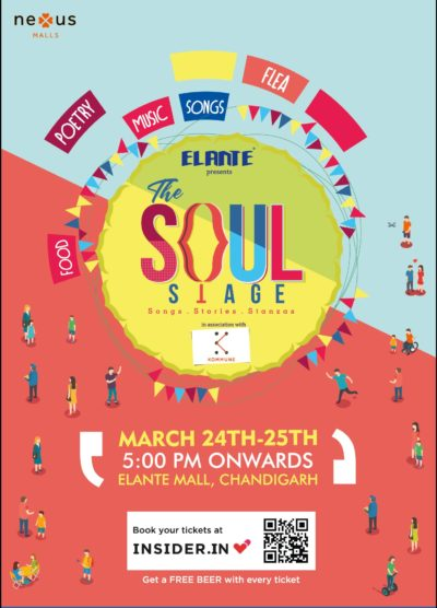 'The Soul Stage' set at Elante for a star-studded literary weekend to light up your creative spirits