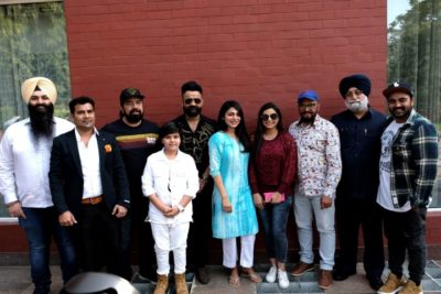 The first look of 'AATE DI CHIRI' launched by Neeru Bajwa and Amrit Maan